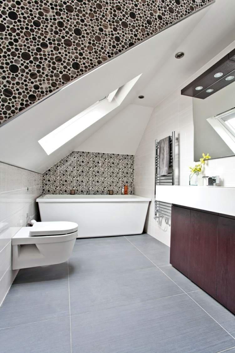 Badezimmer ideen mit dachschrage