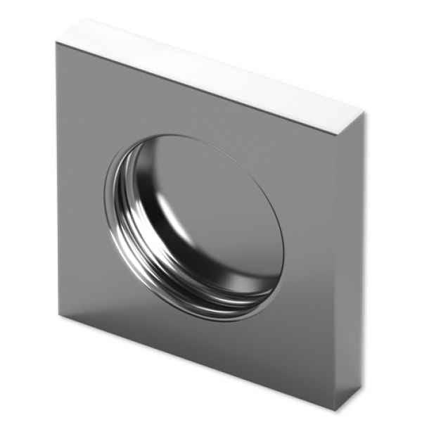 Ручка Bohle квадратная для раздвижных дверей (60х60мм).jpg