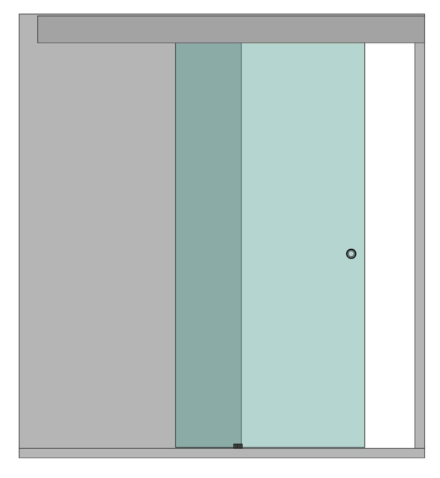 Раздвижная дверь Слайдер