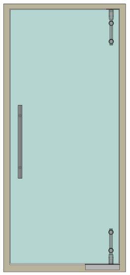 Маятниковые двери Вектор