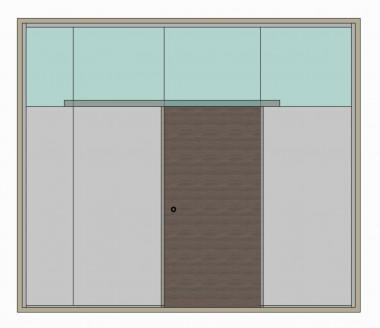 Раздвижные двери Dorma Agile 50